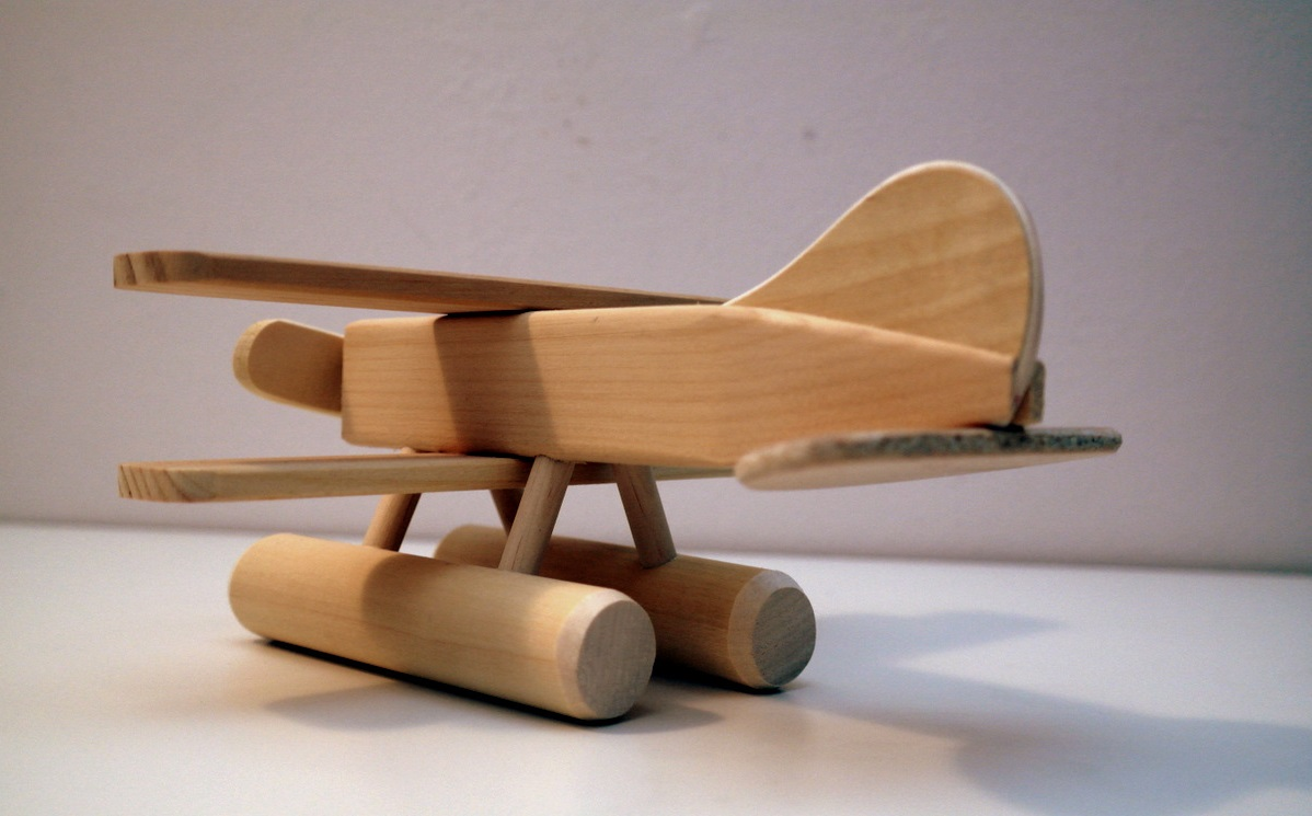 Wooden Sea Plane Toy