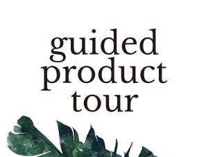 Guided Product Tour